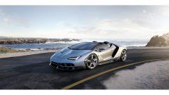 Lamborghini Centenario Roadster: lo 0-100 è di 2,9 secondi, un decimo più lento della Centenario coupé