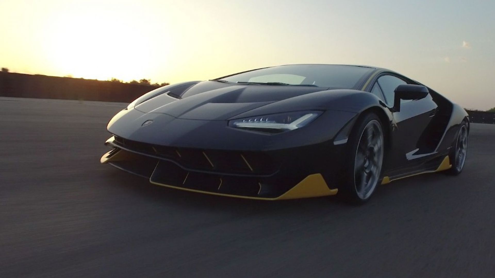 video  lamborghini centenario a nard u00f2  il video in