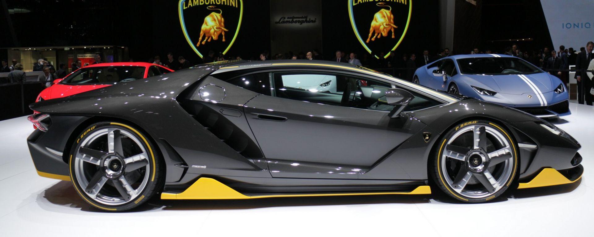 Lamborghini Centenario: foto live