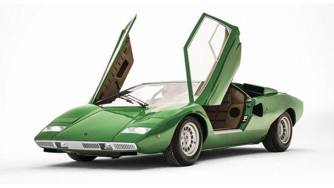 Lamborghini Countach: 3/4 anteriore