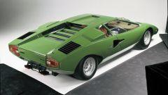 Lamborghini Countach: 3/4 posteriore dall'alto