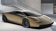 Lamborghini Countach 50 Concept (2021), un render da anniversario