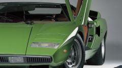 Lamborghini Countach: il frontale originale