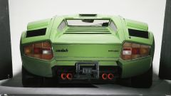 Lamborghini Countach: il posteriore