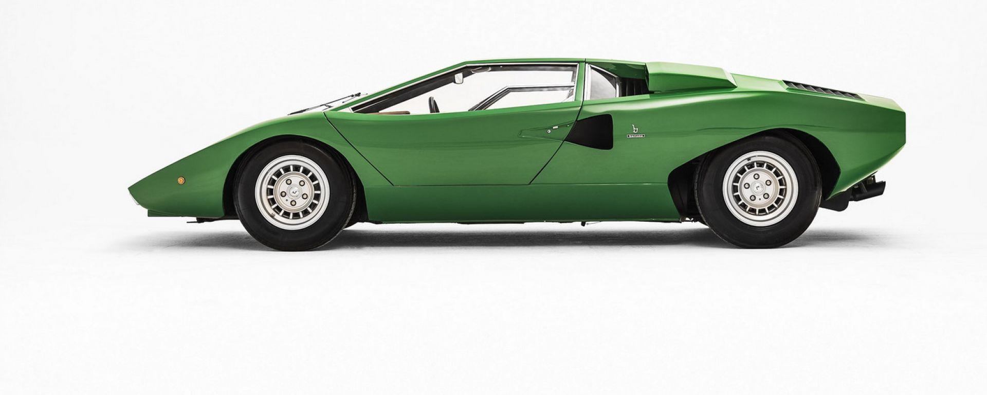 Lamborghini Countach: laterale