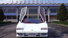 Lamborghini Countach: le classiche portiere con apertura a forbice