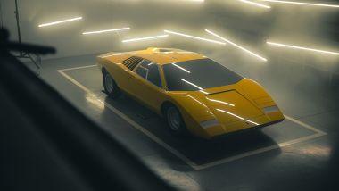 Lamborghini Countach LP 500 1971 recreation: rifatta nel 2021