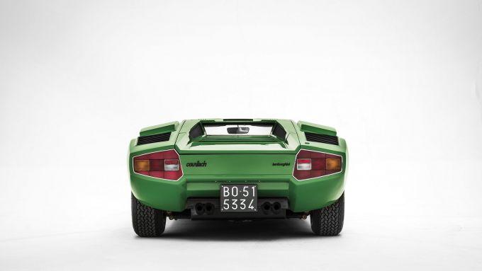 Lamborghini Countach: posteriore