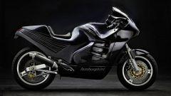 Lamborghini Design 90: lato destro colore nero