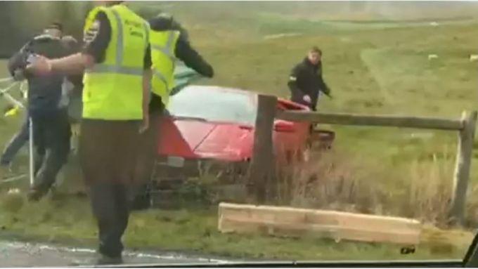Lamborghini Diablo e l'incidente sul set di Top Gear