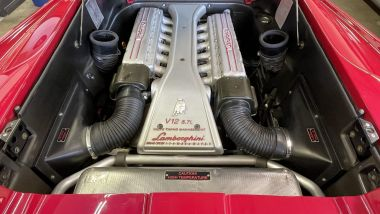Lamborghini Diablo SV '98: il motore