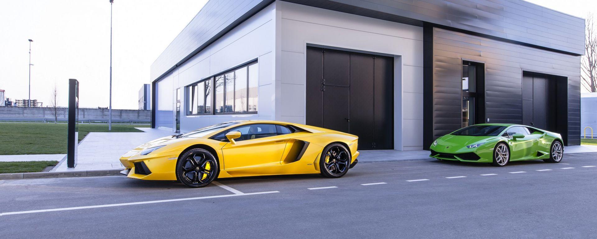 Lamborghini diventa CO2 neutrale