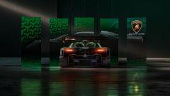 Lamborghini Essenza SCV12: posteriore