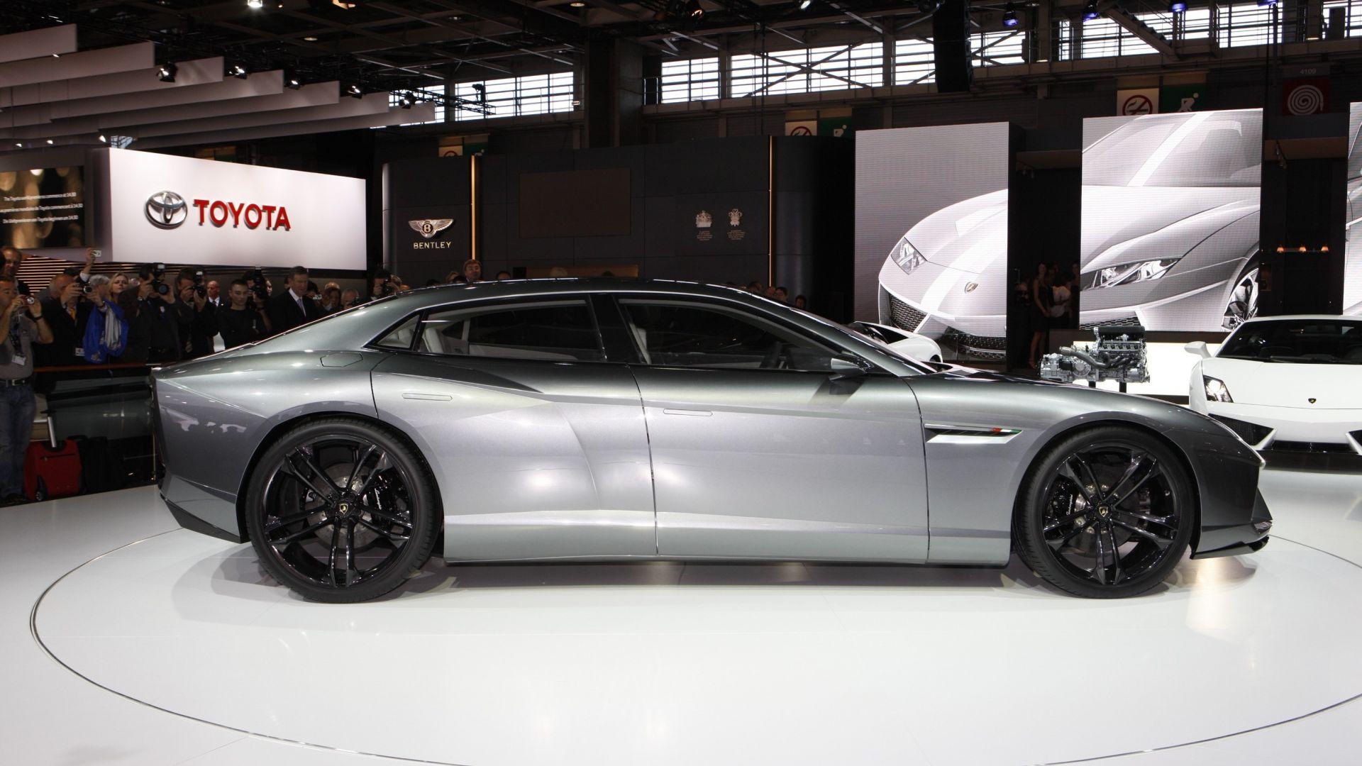 Lamborghini 4 porte: l'erede della Estoque pronta nel 2021 ...