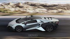 Lamborghini Forsennato Concept: dalla Russia con furore - Immagine: 2