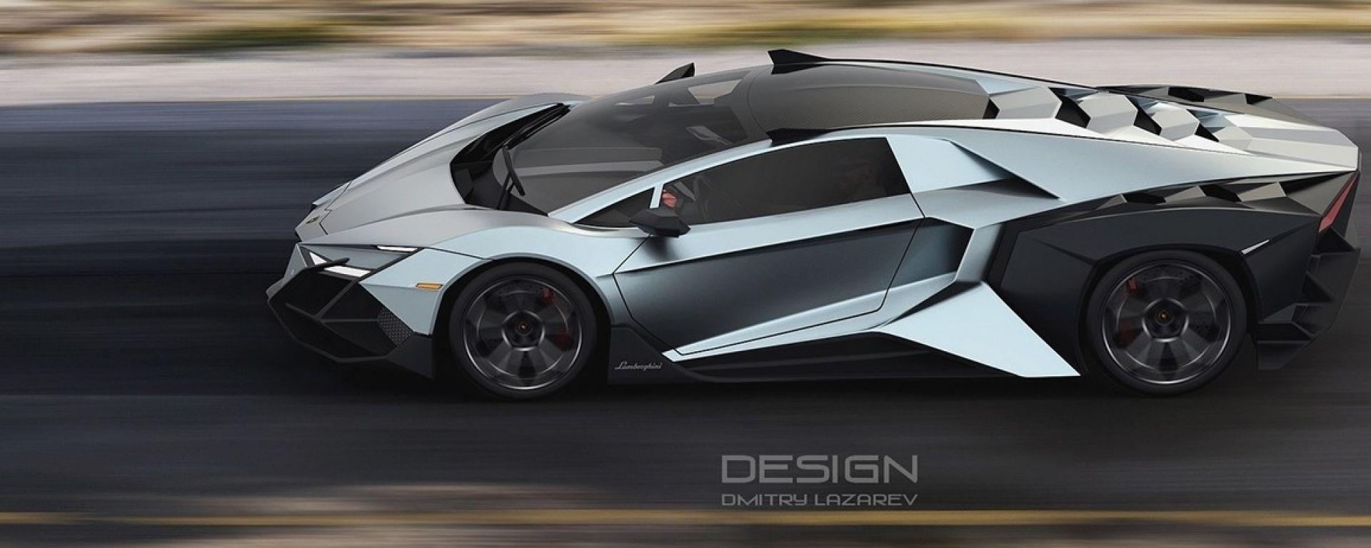 Lamborghini Forsennato Concept: dalla Russia con furore