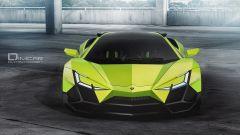 Lamborghini Forsennato Concept: vista frontale