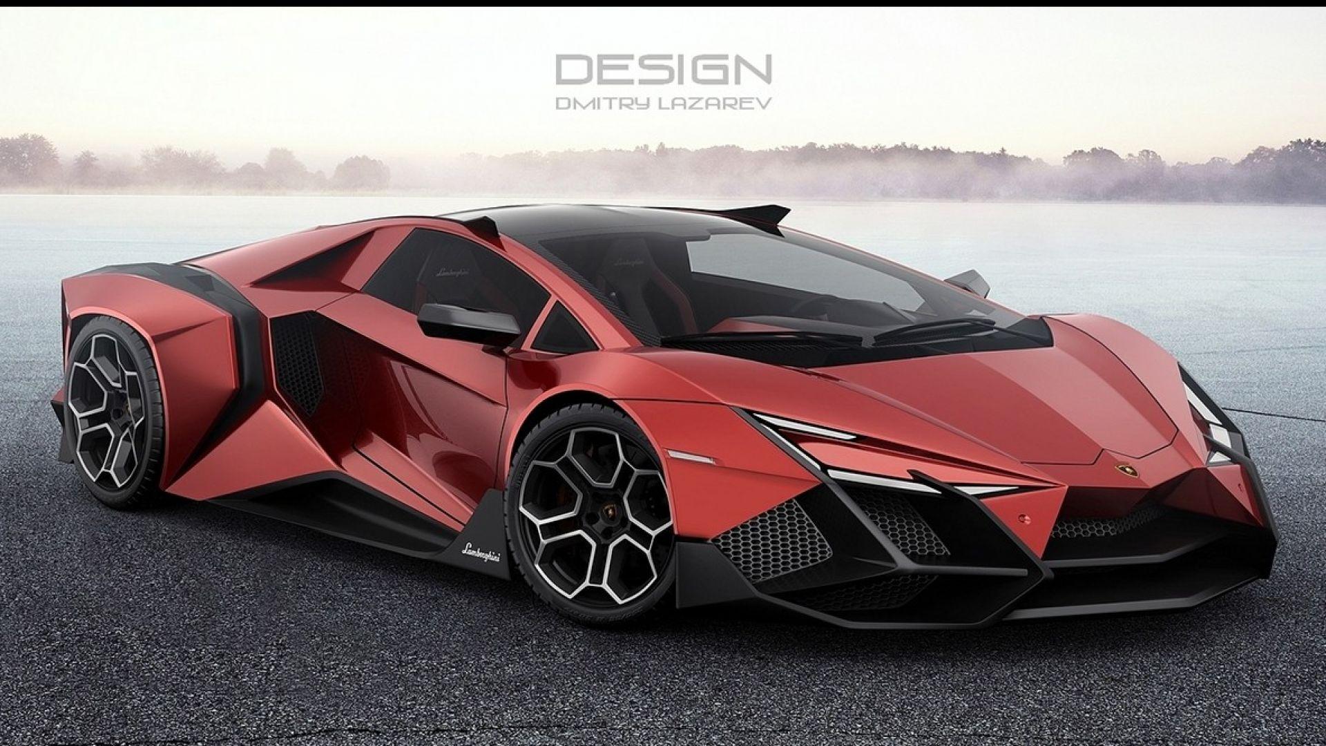 Lamborghini Forsennato Concept Foto E Video Di Un Designer Russo Motorbox