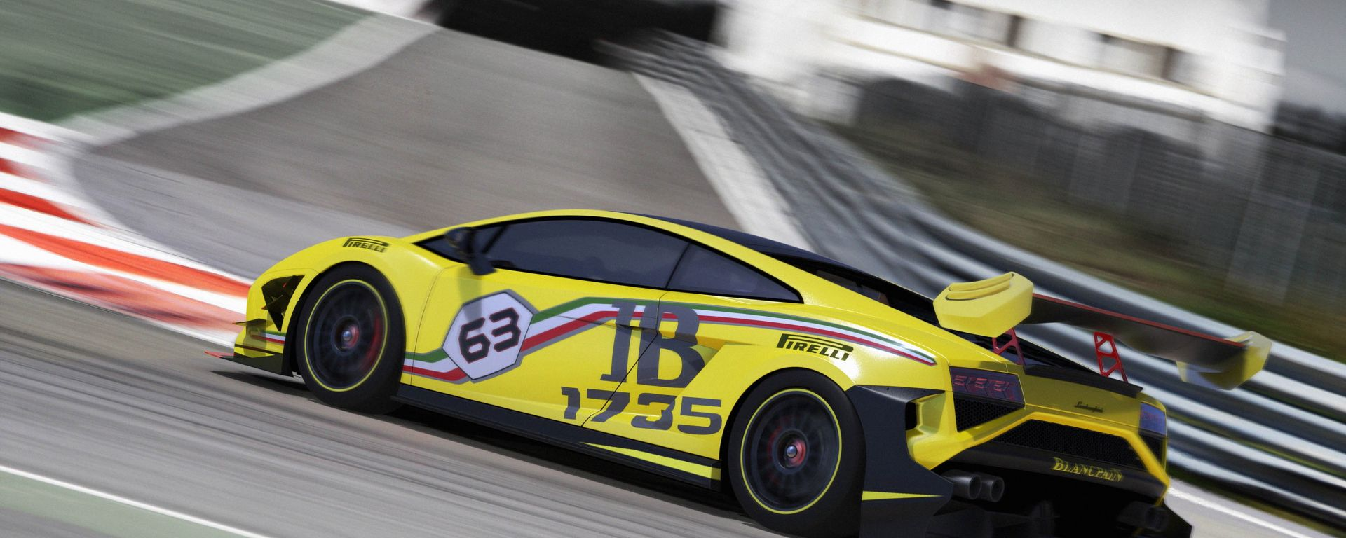 Lamborghini Gallardo LP570-4 Super Trofeo 2013