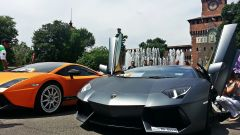 Grande Giro Lamborghini: nuove foto dal via - Immagine: 25