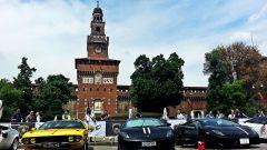 Grande Giro Lamborghini: nuove foto dal via - Immagine: 45