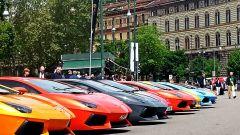 Grande Giro Lamborghini: nuove foto dal via - Immagine: 29