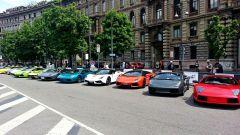 Grande Giro Lamborghini: nuove foto dal via - Immagine: 47