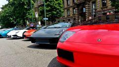 Grande Giro Lamborghini: nuove foto dal via - Immagine: 48