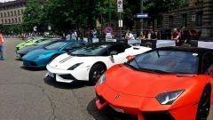 Grande Giro Lamborghini: nuove foto dal via - Immagine: 50