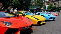 Grande Giro Lamborghini: nuove foto dal via - Immagine: 39