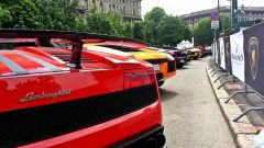 Grande Giro Lamborghini: nuove foto dal via - Immagine: 49