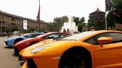 Grande Giro Lamborghini: nuove foto dal via - Immagine: 24