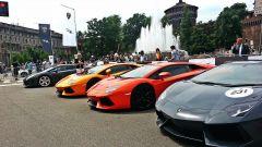 Grande Giro Lamborghini: nuove foto dal via - Immagine: 32