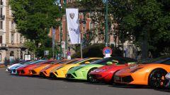 Grande Giro Lamborghini: nuove foto dal via - Immagine: 1