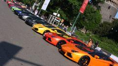 Grande Giro Lamborghini: nuove foto dal via - Immagine: 7