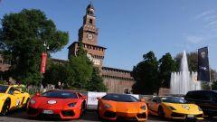 Grande Giro Lamborghini: nuove foto dal via - Immagine: 8