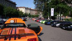 Grande Giro Lamborghini: nuove foto dal via - Immagine: 9