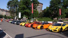 Grande Giro Lamborghini: nuove foto dal via - Immagine: 22