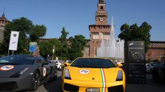 Grande Giro Lamborghini: nuove foto dal via - Immagine: 10