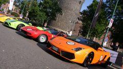 Grande Giro Lamborghini: nuove foto dal via - Immagine: 6