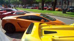 Grande Giro Lamborghini: nuove foto dal via - Immagine: 13