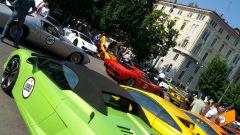 Grande Giro Lamborghini: nuove foto dal via - Immagine: 15