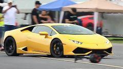 Lamborghini Huracan biturbo by Underground Racing: vista 3/4 anteriore
