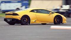 Lamborghini Huracan biturbo by Underground Racing: vista 3/4 posteriore