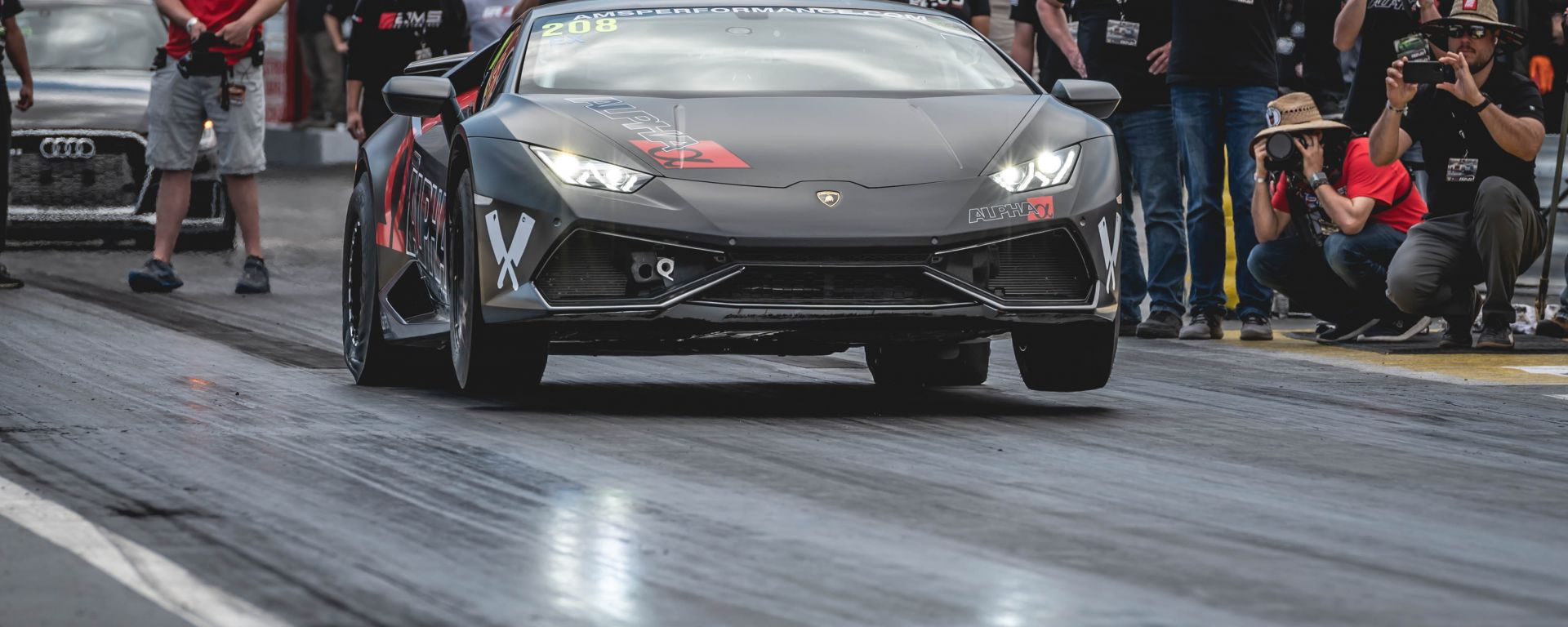 Lamborghini Huracan by AMS Performance: 2.000 CV per la drag race dei record