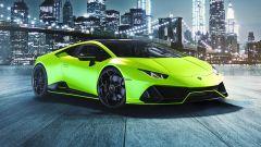 Lamborghini Huracan EVO 2021 in colore Verde Shock