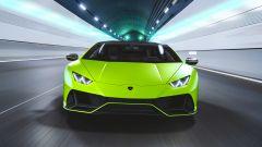 Lamborghini Huracan EVO 2021, vista frontale