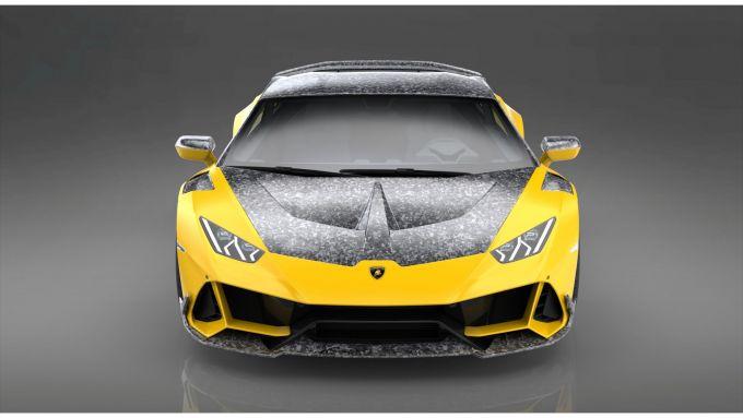 Lamborghini Huracan Evo by 1016 Industries: il cofano in carbonio fa risparmiare 3,6 kg