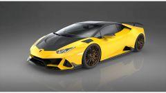Lamborghini Huracan Evo by 1016 Industries: la versione con il kit in carbonio nero