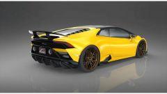 Lamborghini Huracan Evo by 1016 Industries: l'ala posteriore in carbonio forgiato